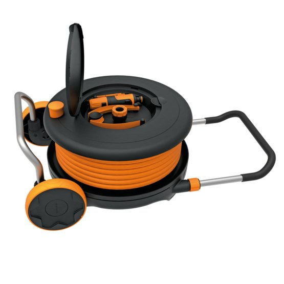 Waterwheel L with 30 m hose