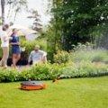 Waterwheel med 15 m slang
